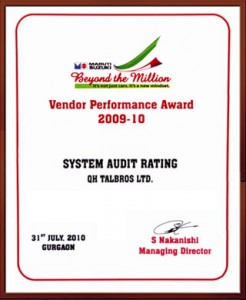 maruti-suzuki-system-audit-rating